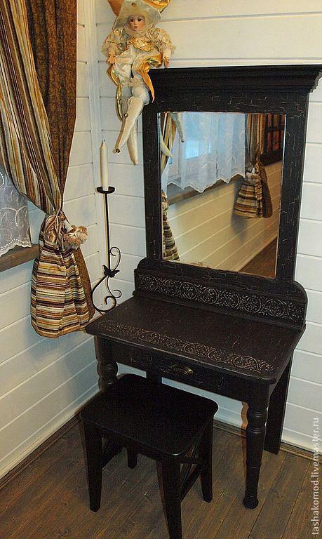 """Мебель ручной работы. Ярмарка Мастеров - ручная работа. Купить Проект """"Венеция"""". Туалетный столик.. Handmade. Мебель, авторская мебель"""