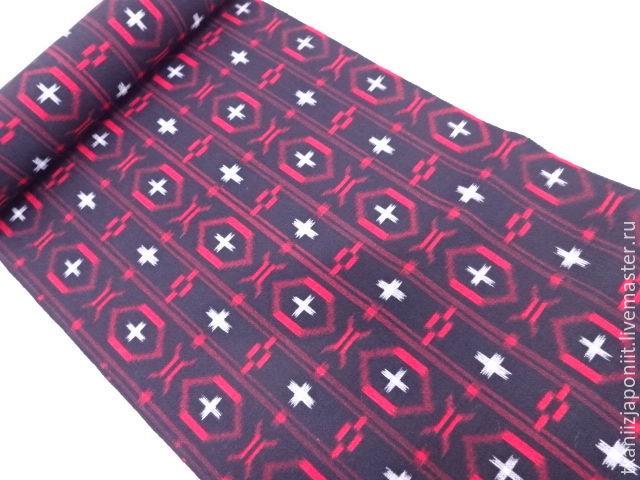 Wool Japanese fine 'Ikat', Fabric, Chelyabinsk,  Фото №1