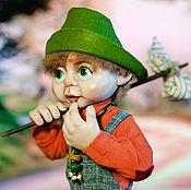 Куклы и игрушки ручной работы. Ярмарка Мастеров - ручная работа Гном-бродяга Стиви. Handmade.