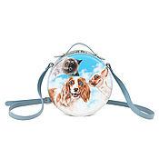 Сумки и аксессуары handmade. Livemaster - original item bag. Form a circle of