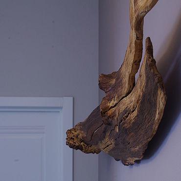 Для дома и интерьера ручной работы. Ярмарка Мастеров - ручная работа Коряги дубовые настенные. Handmade.