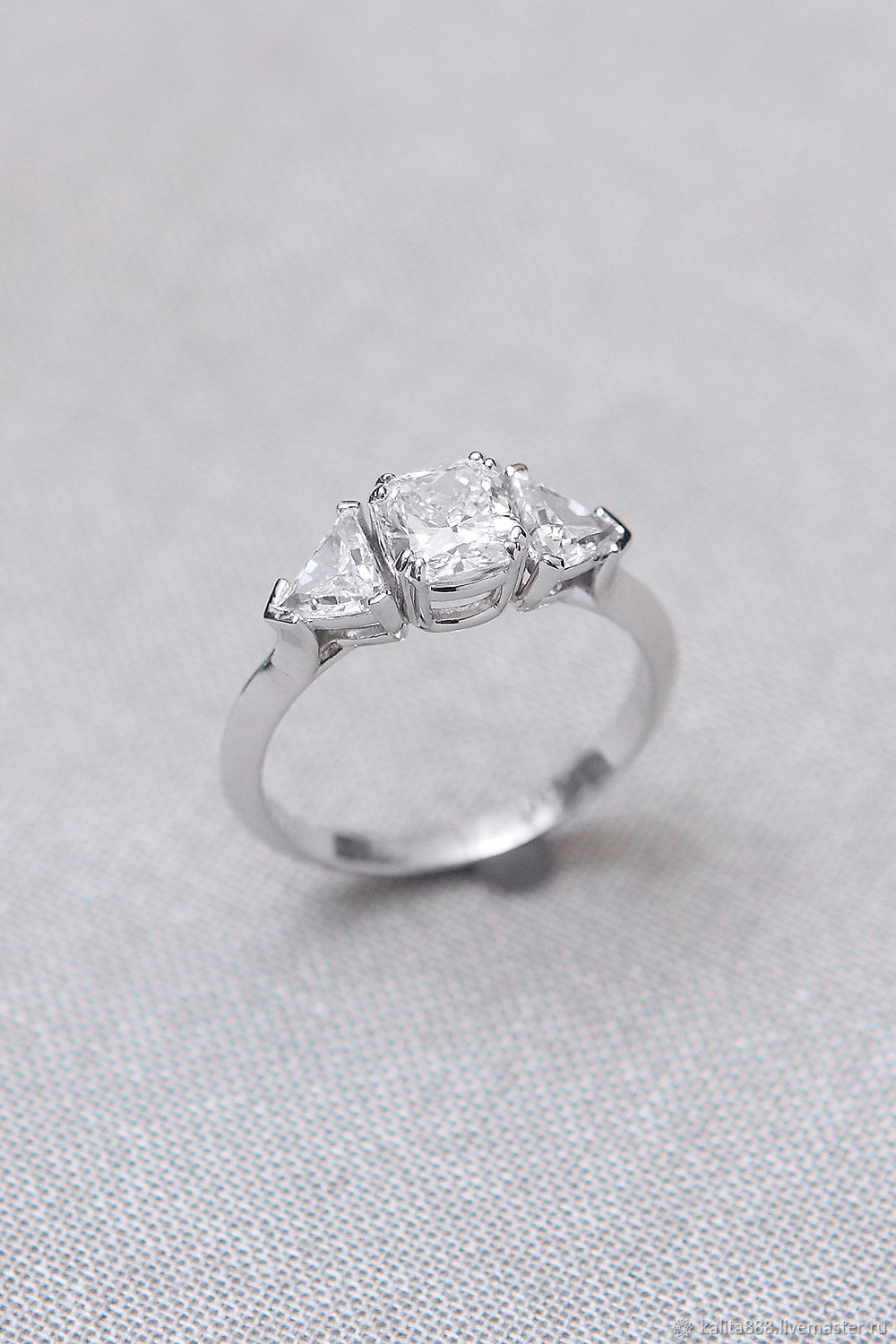 Copy of Copy of Ring with Diamonds, Rings, Moscow,  Фото №1