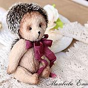 Куклы и игрушки ручной работы. Ярмарка Мастеров - ручная работа Тедди ежик Еня. Handmade.