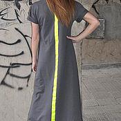Одежда handmade. Livemaster - original item Sporty, stylish dress in floor - DR0097W2. Handmade.