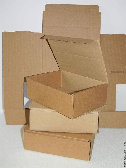 Упаковка ручной работы. Ярмарка Мастеров - ручная работа. Купить Коробка 24x16x8 см, гофра. Handmade. Коробка, крафт упаковка