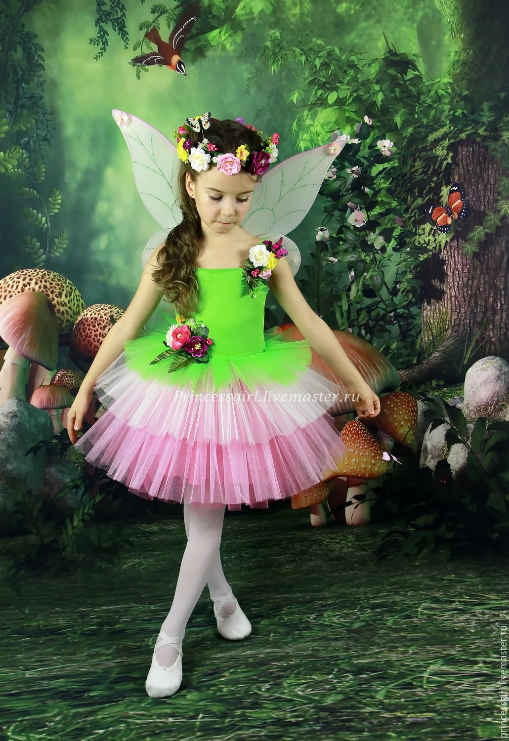 eb8b3bb68708 Costume Flower Fairies – shop online on Livemaster with shipping ...