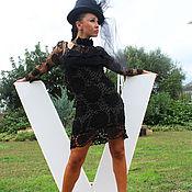 Одежда ручной работы. Ярмарка Мастеров - ручная работа Платье вязаное Мадам Турандот. Handmade.