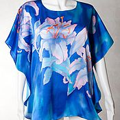 Одежда handmade. Livemaster - original item Batik blouse