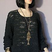 """Одежда ручной работы. Ярмарка Мастеров - ручная работа Вязаный пуловер """" New Look"""". Handmade."""