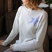 Одежда handmade. Livemaster - original item Cashmere jumper Estrella. Handmade.