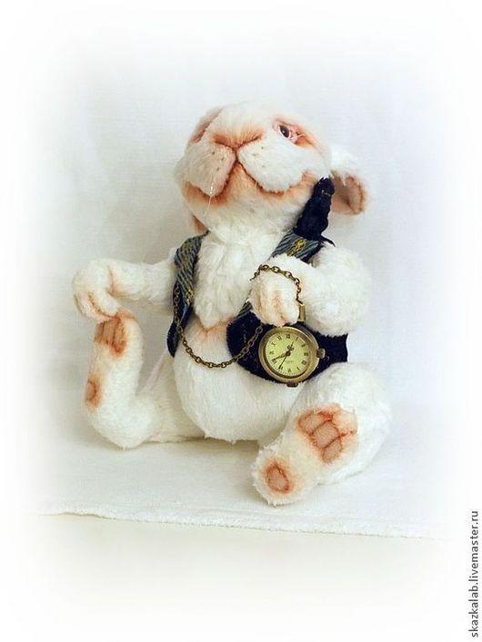 Мишки Тедди ручной работы. Ярмарка Мастеров - ручная работа. Купить Белый кролик. Handmade. Белый, мех искусственный