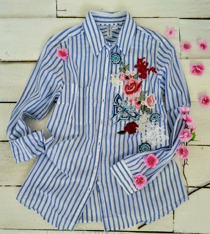 Вышивка на блузках 712