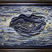 Картины и панно ручной работы. Ярмарка Мастеров - ручная работа Ночной полет. Handmade.