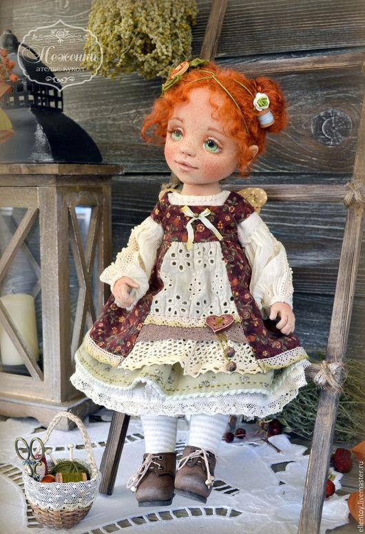 Коллекционные куклы ручной работы. Ярмарка Мастеров - ручная работа. Купить Феечка Чудесенка, текстильная коллекционная авторская кукла. Handmade.