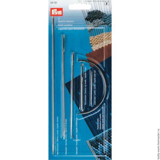 Иглы ручные, ремесленные в ассортименте, 6шт в блистере, Prym 131121