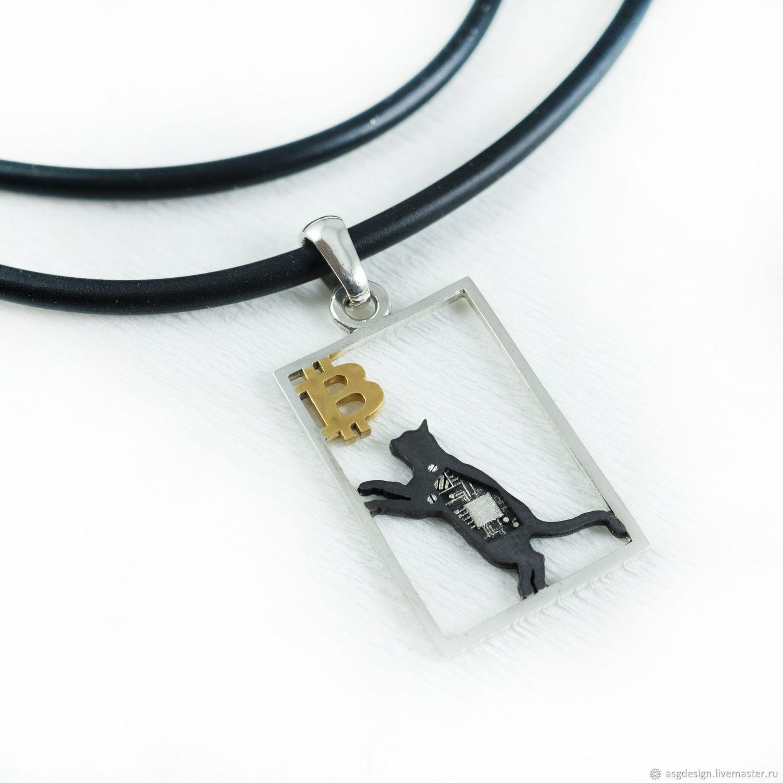 Cat pendant, Pendants, Moscow,  Фото №1