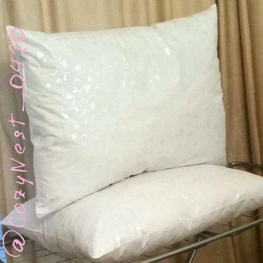 Текстиль, ковры ручной работы. Ярмарка Мастеров - ручная работа. Купить Подушка для сна. Handmade. Белый, подушка для сна, холлофайбер