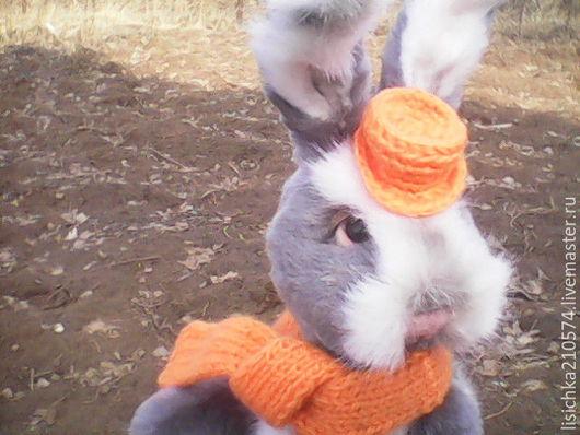 Мишки Тедди ручной работы. Ярмарка Мастеров - ручная работа. Купить Зайчик Пантелей (друг Тедди). Handmade. Серый, кролик