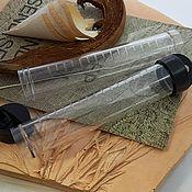 Материалы для творчества handmade. Livemaster - original item Tube for storage of materials 10,5h2 cm plastic (3695). Handmade.