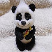 Мягкие игрушки ручной работы. Ярмарка Мастеров - ручная работа Панда. Handmade.