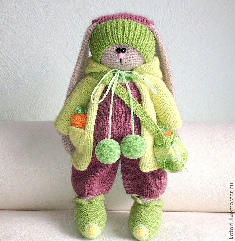 Вязание игрушек тильд