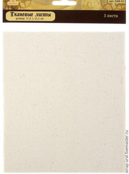 Открытки и скрапбукинг ручной работы. Ярмарка Мастеров - ручная работа. Купить Холст (листы ткани). Handmade. Белый, лист, Скрапбукинг
