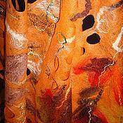 """Аксессуары ручной работы. Ярмарка Мастеров - ручная работа Палантин """"Краса осени"""". Handmade."""