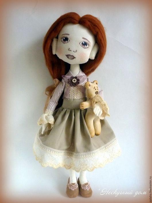 """Коллекционные куклы ручной работы. Ярмарка Мастеров - ручная работа. Купить Текстильная кукла """"Хорошая девочка"""", кукла ручной работы. Handmade."""