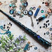 Субкультуры handmade. Livemaster - original item The author`s Magic wand Harry Potter Indigo blue. Handmade.