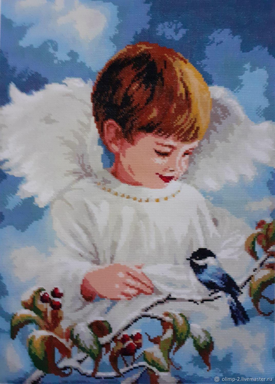 Ангелочек мальчик, Картины, Тбилисская,  Фото №1