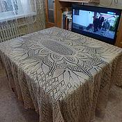 Для дома и интерьера ручной работы. Ярмарка Мастеров - ручная работа Скатерть овальная. Handmade.