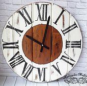 """Часы ручной работы. Ярмарка Мастеров - ручная работа Настенные часы """"Старые доски"""". Handmade."""