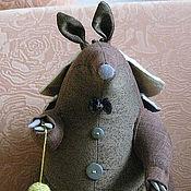 """Мягкие игрушки ручной работы. Ярмарка Мастеров - ручная работа Игрушка-броненосец """"Франт"""". Handmade."""
