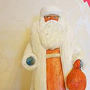 Винтаж ручной работы. Ярмарка Мастеров - ручная работа Ватный  Дед Мороз советский. Реставрация. Handmade.