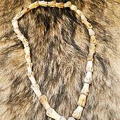 Фен-шуй и эзотерика handmade. Livemaster - original item Beads of bone of the wolf. Handmade.