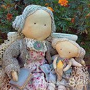 Куклы и игрушки ручной работы. Ярмарка Мастеров - ручная работа С бабушкой рядышком.... Handmade.
