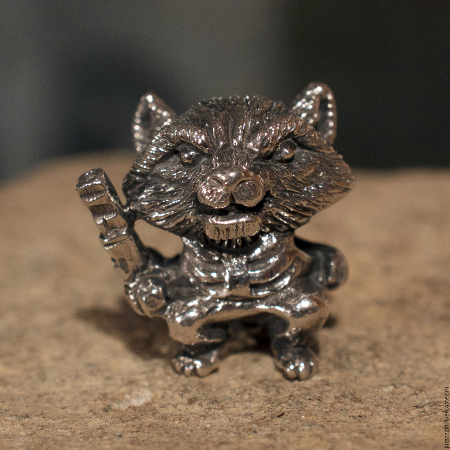 Rocket Raccoon Charm Shop Online On Livemaster With