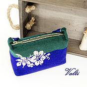 handmade. Livemaster - original item Bags: Handbag with silver flower. Handmade.