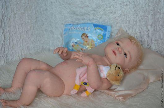 Куклы-младенцы и reborn ручной работы. Ярмарка Мастеров - ручная работа. Купить Виктория.. Handmade. Кукла реборн, Стеклогранулят