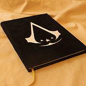 """Блокноты ручной работы. Ярмарка Мастеров - ручная работа Блокнот """"assassin`s creed"""". Handmade."""