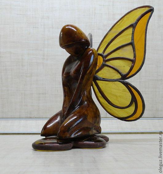 """Статуэтки ручной работы. Ярмарка Мастеров - ручная работа. Купить """"ночные бабочки"""". Handmade. Статуэтки, девушки, красота"""