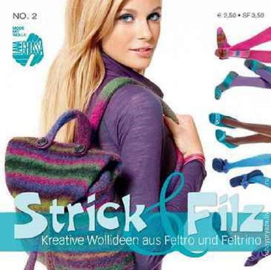 Журнал Knitting & Felting №2.