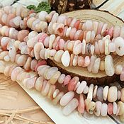 Beads1 handmade. Livemaster - original item Thread Morganite chips of 5-10 mm (art. 3268). Handmade.