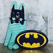 Для дома и интерьера ручной работы. Ярмарка Мастеров - ручная работа Детский светильник Бетмен. Handmade.