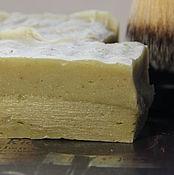 Косметика ручной работы. Ярмарка Мастеров - ручная работа Мыло натуральное с нуля для бритья. Handmade.