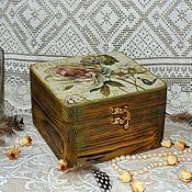 """Для дома и интерьера ручной работы. Ярмарка Мастеров - ручная работа """"Парижские розы"""" Шкатулка. Handmade."""