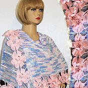Аксессуары handmade. Livemaster - original item Crochet stole Delicate fragrance.. Handmade.