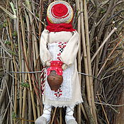 """Куклы и игрушки ручной работы. Ярмарка Мастеров - ручная работа Кукла мотанка """"Помощница"""". Handmade."""
