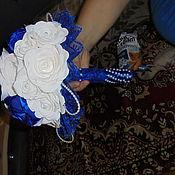 Свадебный салон ручной работы. Ярмарка Мастеров - ручная работа Свадебный букет. Handmade.