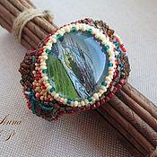 """Украшения ручной работы. Ярмарка Мастеров - ручная работа браслет  """"дочь индейского вождя"""" вышитый бисером. Handmade."""